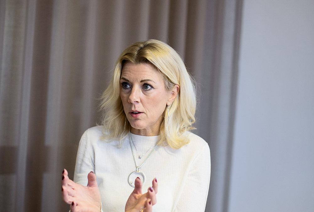 Ulrika Kjellberg, CEO. Photographer Jonas Tobin