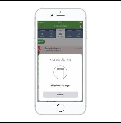 MCSS för iPhon med stöd för NFC