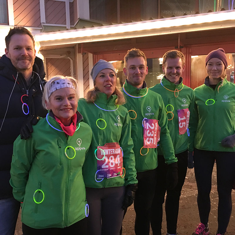 Appva springer Winterrun